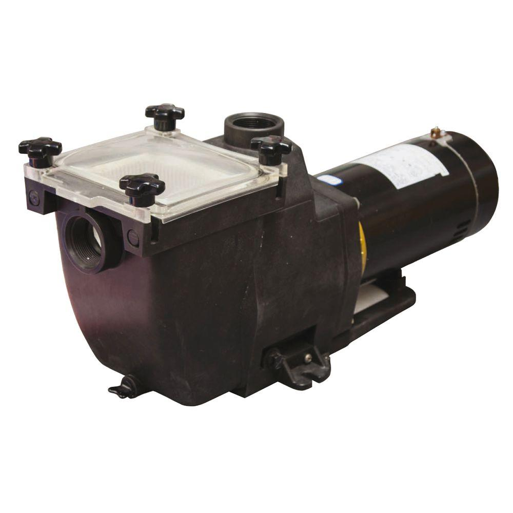hight resolution of blue wave tidal wave 1 hp replacement pump for in ground pools ne8151 the home depot