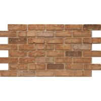 Urestone Weathered Orange 24 in. x 46-3/8 in. Faux Used ...