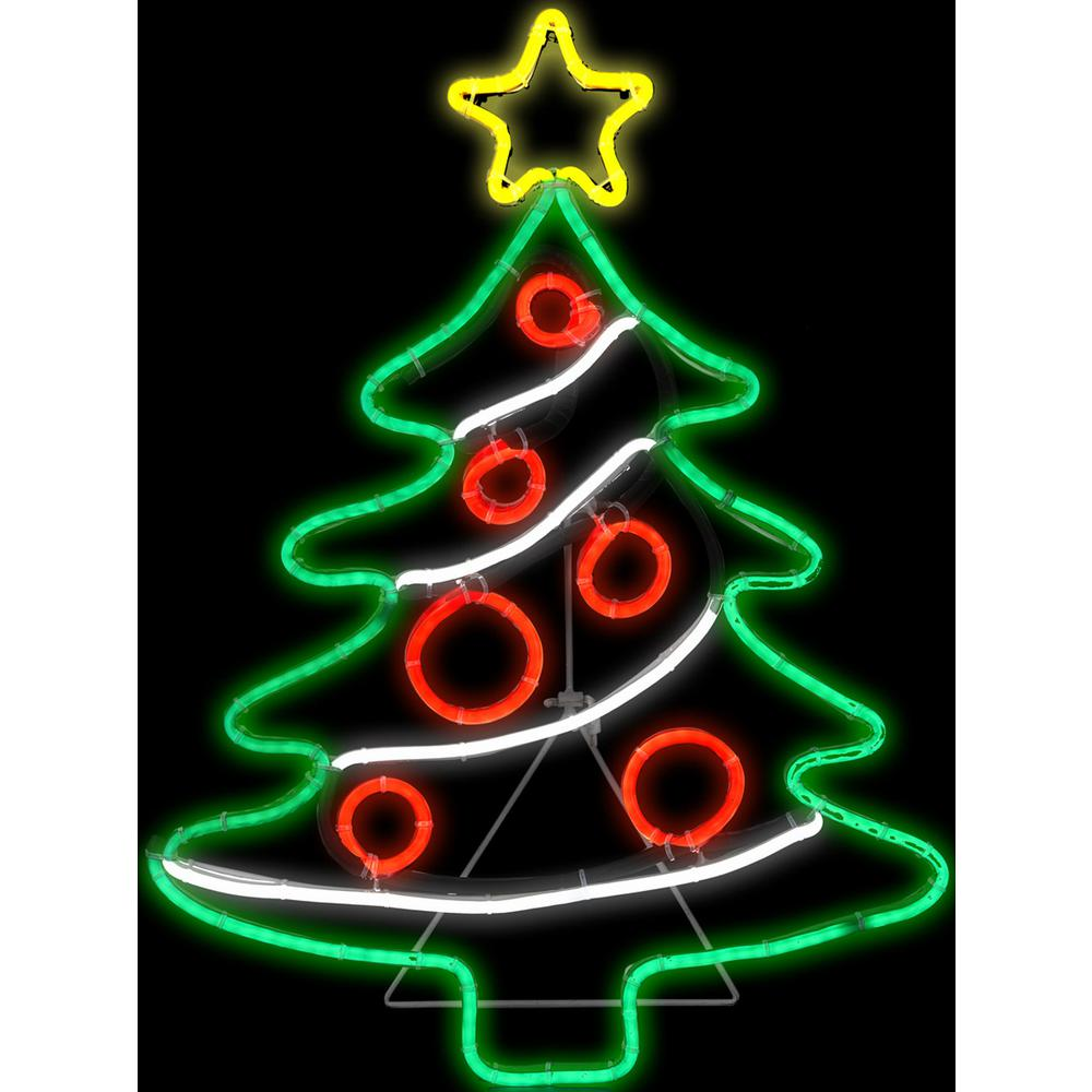 Which Tree Is Decorated On Christmas