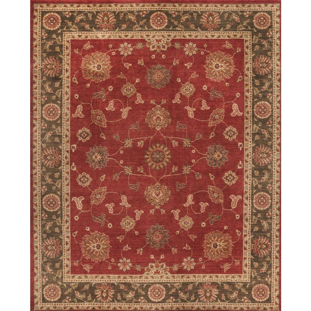 Home Decorators Collection Casa Red 10 ft x 13 ft Indoor