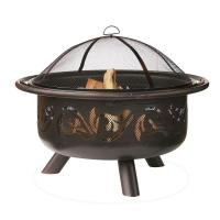 Endless Summer 36 in. Fire Pit with Swirl Design