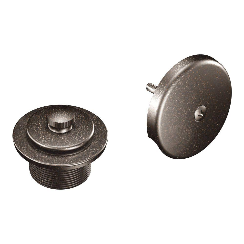 MOEN Tub and Shower Drain Covers in Oil Rubbed Bronze