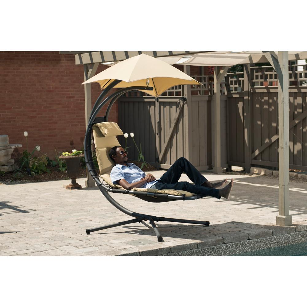 outdoor dream chair rollator transport vivere original patio with sand dune cushion sd