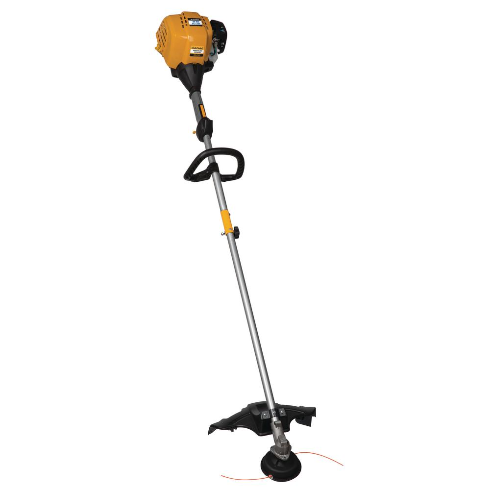 hight resolution of cub cadet 25 cc gas 4 cycle straight shaft attachment capable string trimmer