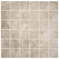 Portland Stone Gray 12 in. x 12 in. x 6.35 mm Ceramic ...