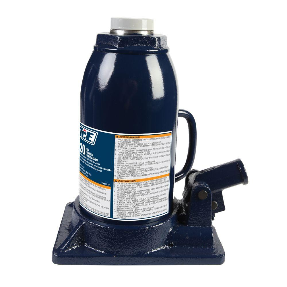 medium resolution of tce 20 ton professional bottle jack