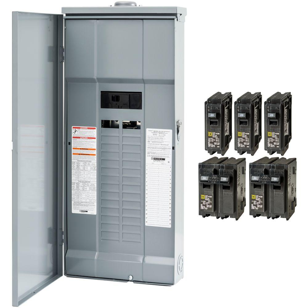siemens load center wiring diagram 2000 gmc sierra 1500 headlight square d homeline 200 amp 30-space 60-circuit outdoor main breaker plug-on neutral ...