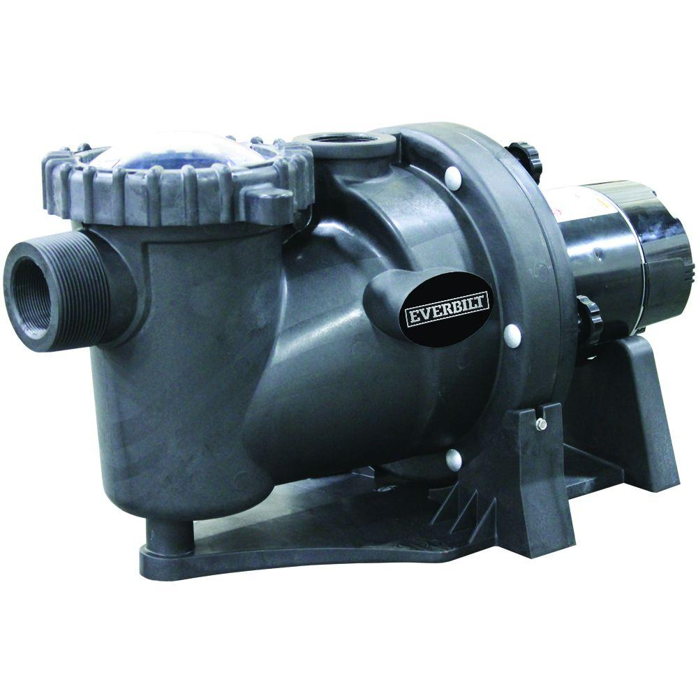 hight resolution of everbilt 1 5 hp 230 115 volt in ground pool pump with protector technology