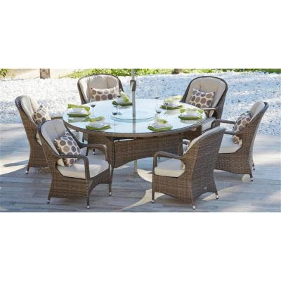 Steel Seats 6 People Patio Dining Sets Patio Dining Furniture The Home Depot