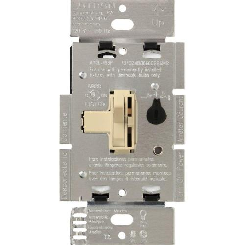 small resolution of lutron toggler 250w c l dimmer switch for dimmable led halogen and incandescent bulbs single