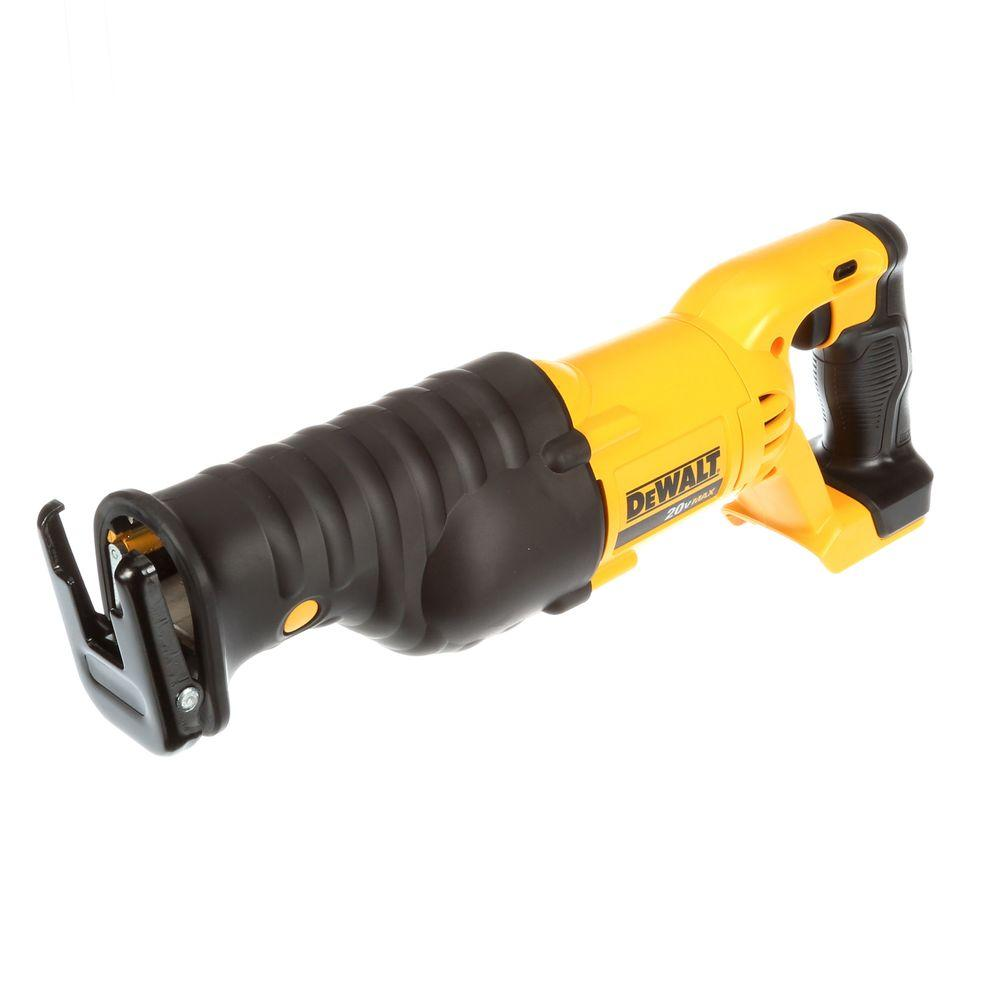 medium resolution of 20 volt max lithium ion cordless reciprocating saw tool only
