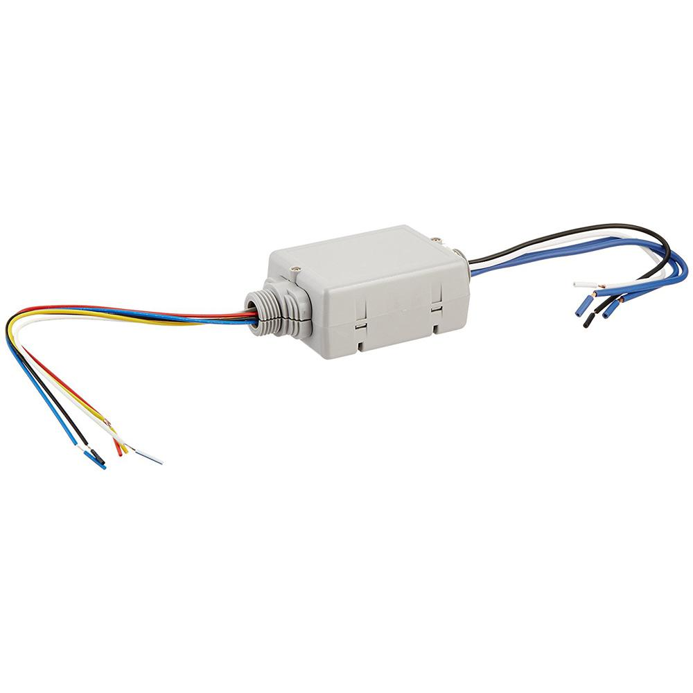 hight resolution of 20 amp standard power pack for occupancy sensors auto on manual on local switch latching relay gray