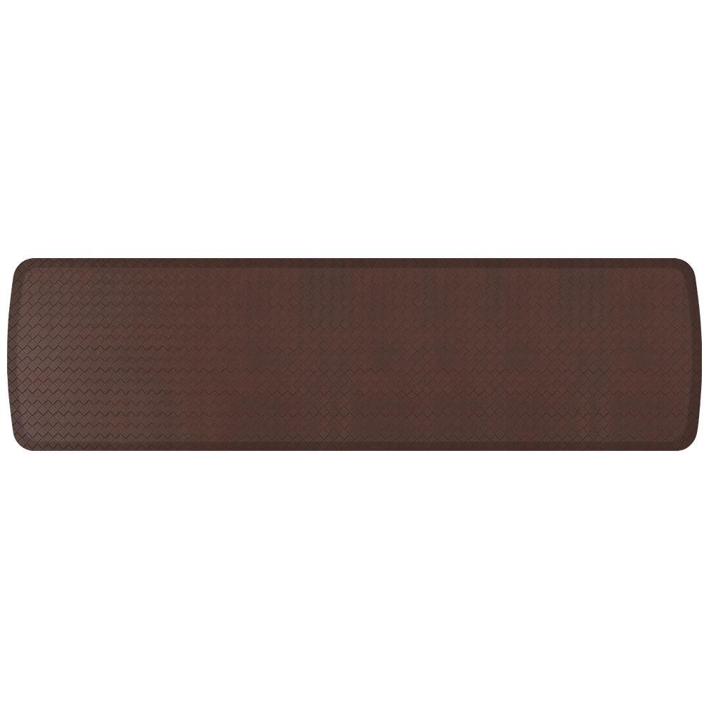 kitchen mats gel degreaser gelpro elite basketweave truffle 20 in x 72 comfort mat