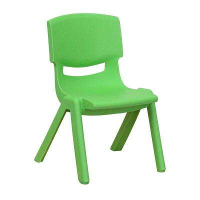 toddler saucer chair canada folding leg size kids furniture baby the home depot green plastic stackable school with 10 5 in seat height