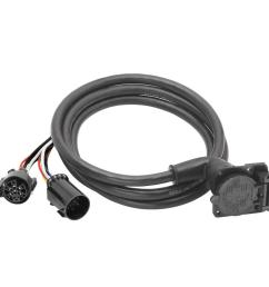 bargman 7 way 90 fifth wheel adapter harness with 9 ft cable7 way 90 fifth wheel [ 1000 x 1000 Pixel ]
