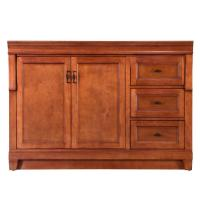 Foremost Naples 48 in. W Bath Vanity Cabinet Only in Warm ...