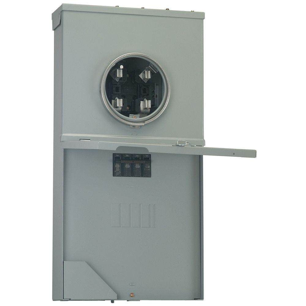 medium resolution of ge power mark gold 200 amp 4 space 8 circuit meter socket load 4 pole meter socket wiring