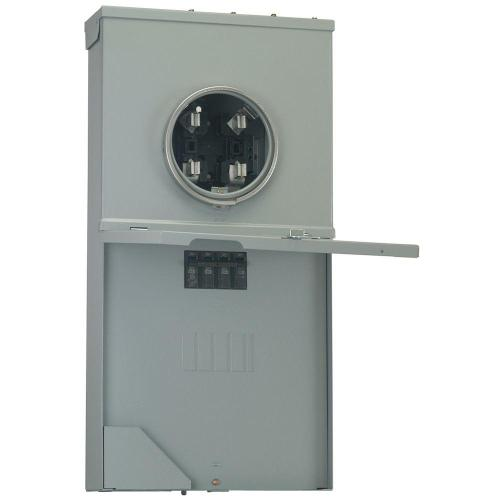 small resolution of ge power mark gold 200 amp 4 space 8 circuit meter socket load 4 pole meter socket wiring