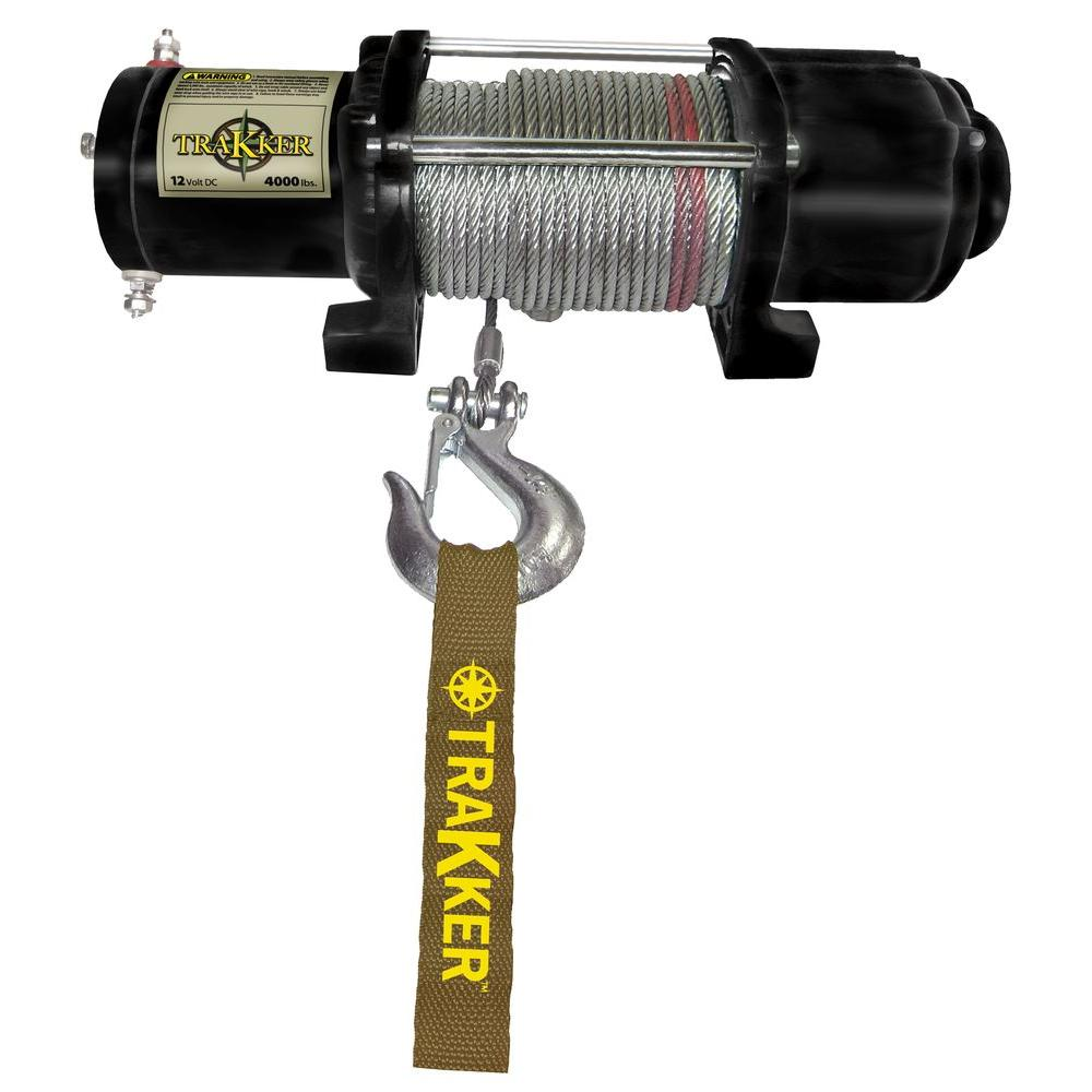 medium resolution of trakker 4 000 lbs utility atv 12vdc winch