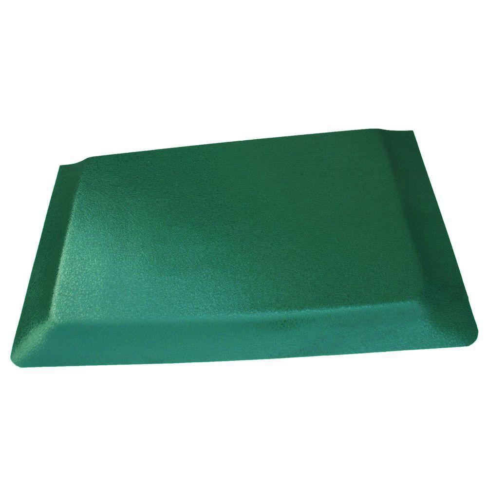 green kitchen mat modern nook rhino anti fatigue mats hide pebble brushed surface 24 in x 72