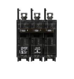 100 amp 3 pole bq 10 ka lug in lug out circuit [ 1000 x 1000 Pixel ]