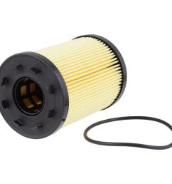 extra guard engine oil filter fits 2001 2014 volkswagen jetta golf passat [ 1000 x 1000 Pixel ]
