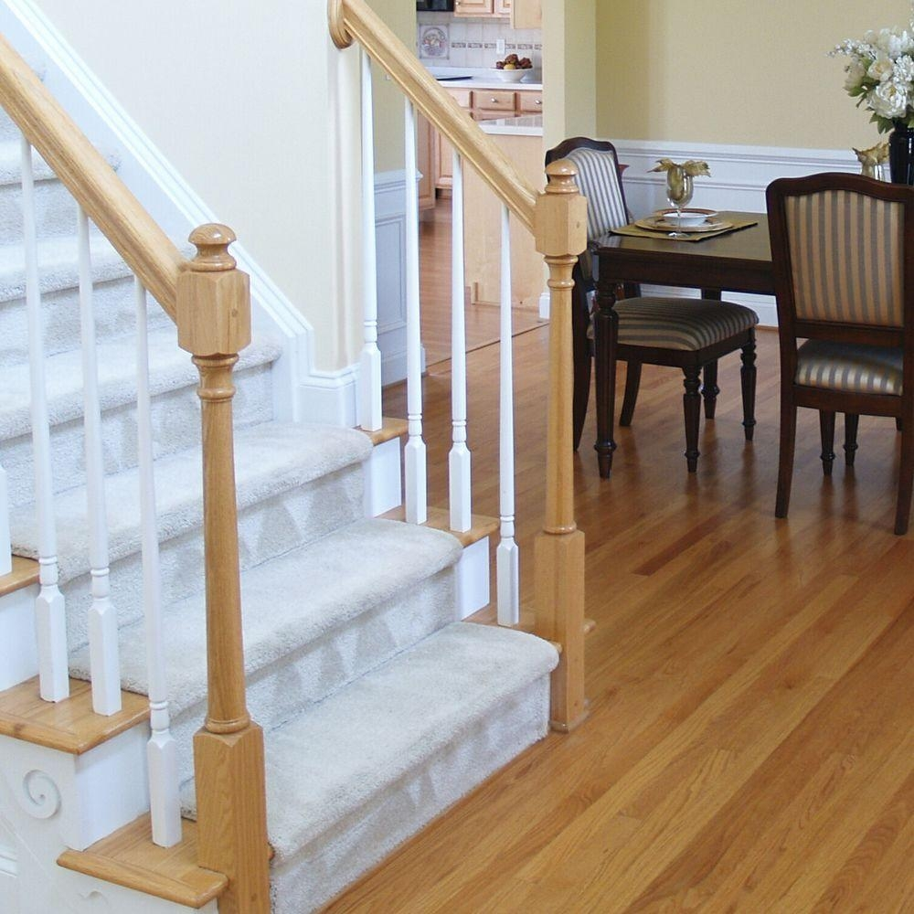 Stair Parts 5015 36 In X 1 1 4 In Primed Tapered Baluster 5015X | Interior Railings Home Depot | Metal | Pre Assembled | Indoor | Interior Diy Stair | Plastic