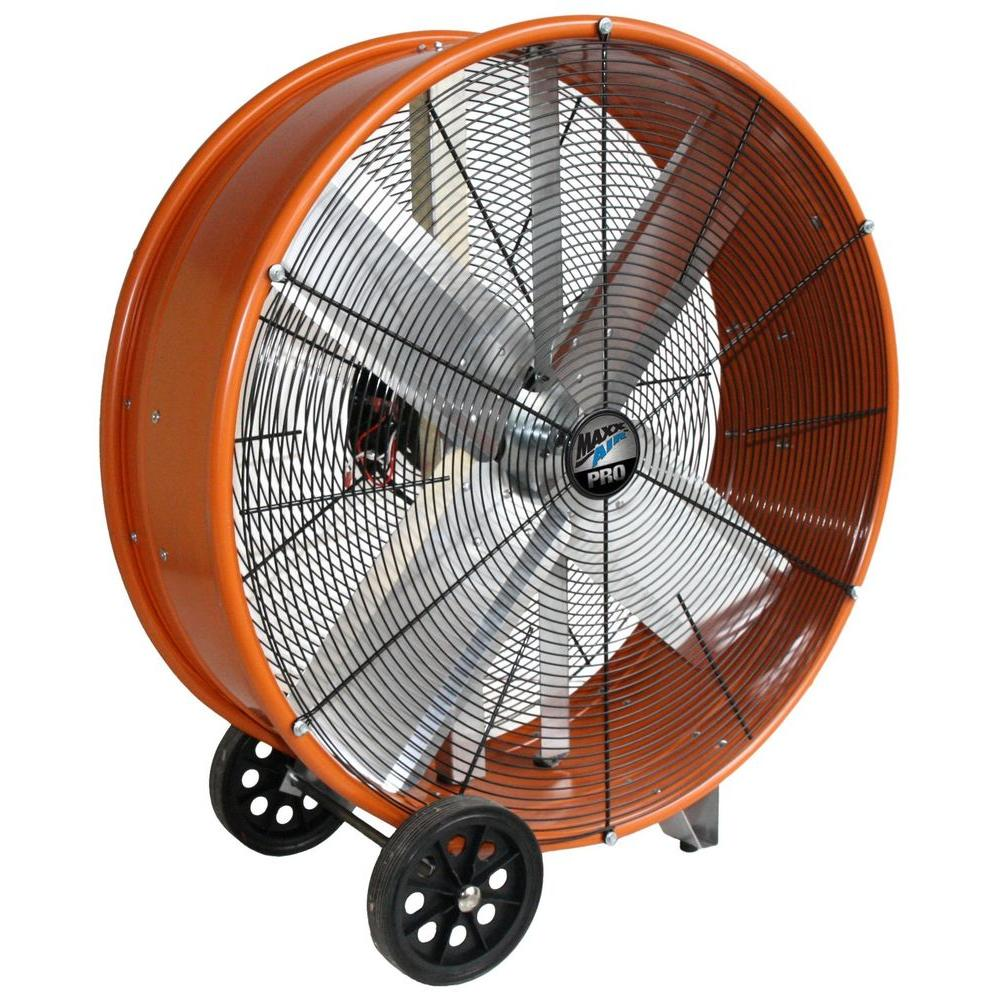 medium resolution of maxxair 30 in industrial heavy duty 2 speed pro drum fan