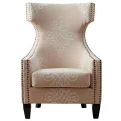 Damask Accent Chair Herman Miller Chairs Amazon Wood Wingback The Home Depot Pattern