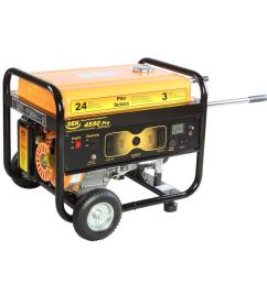 pro series 4550 watt gasoline powered portable generator with 170cc 100 copper [ 1000 x 1000 Pixel ]