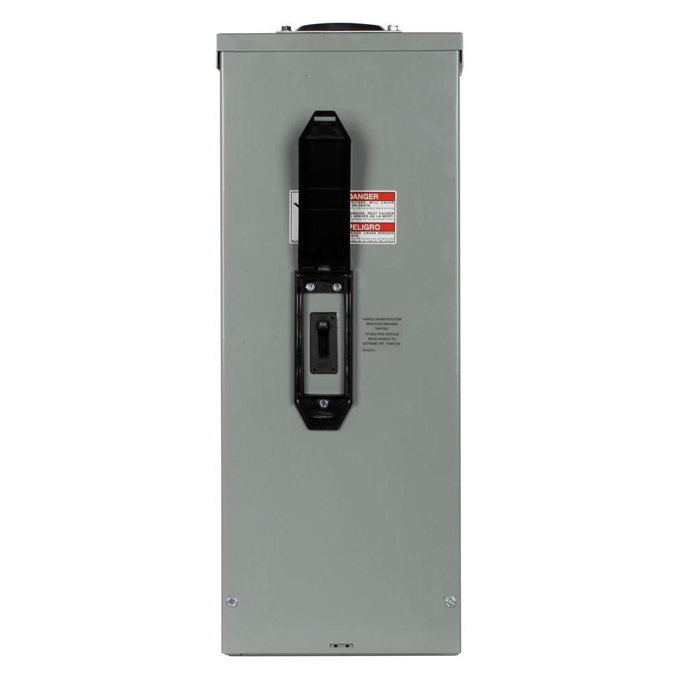 medium resolution of 200 amp enclosed 2 pole outdoor circuit breaker