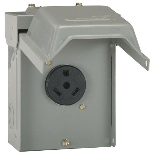 small resolution of 30 amp temporary rv power outlet