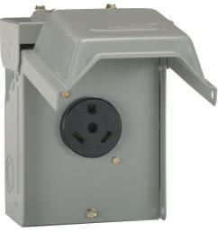 ge 30 amp temporary rv power outlet [ 1000 x 1000 Pixel ]
