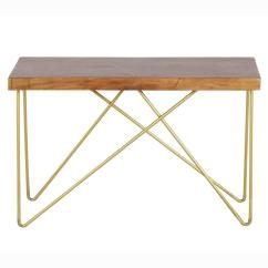 Sofa Console Tables Wood Lexington Sofas Steve Silver Company Walter Mango Top With Brass Inlay And Base Table