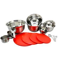 Sunbeam Branfield 21-Piece Mixing Bowl Set with Measuring ...
