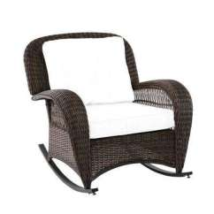 Outdoor Rocking Chairs Chair Cushions With Ties Australia Patio The Home Depot Beacon Park Wicker