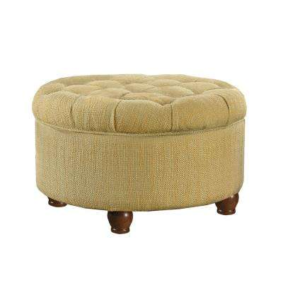 living room chair and ottoman repair parts tufted ottomans furniture the home depot round tan cream tweed storage