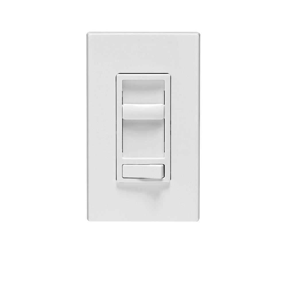 hight resolution of  white leviton dimmers r62 06674 p0w 64 1000 leviton sureslide universal 150 watt led and cfl 600