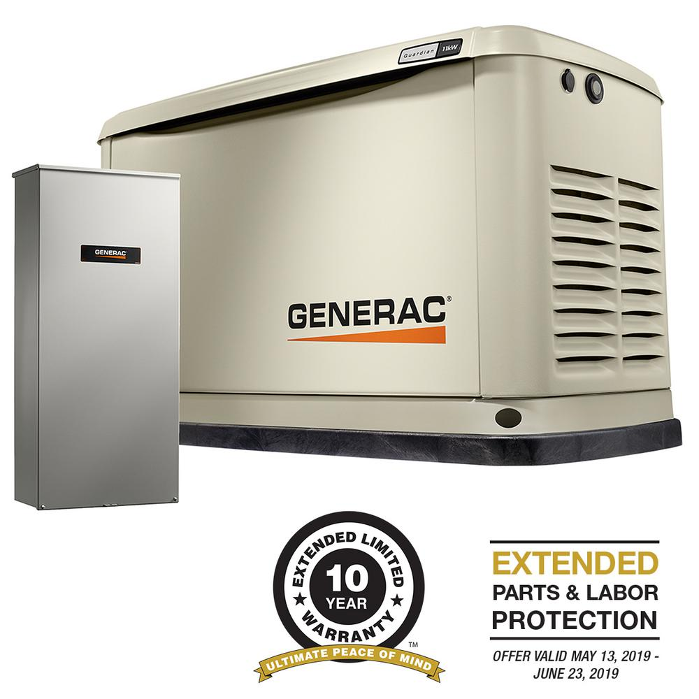 hight resolution of  generac 11000 watt lp 10000 watt ng air