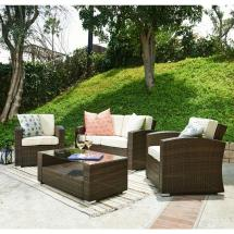 Sofa - Patio Conversation Sets Outdoor Lounge Furniture