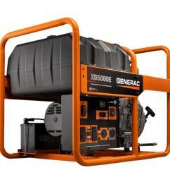 5 000 watt diesel powered electric start portable generator [ 1000 x 1000 Pixel ]