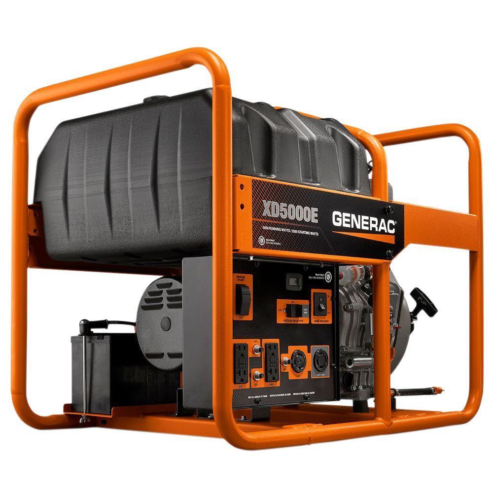 medium resolution of 5 000 watt diesel powered electric start portable generator