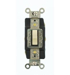 leviton 20 amp industrial grade heavy duty double pole double throw light switch double pole wiring diagram leviton single pole double throw switch wiring  [ 1000 x 1000 Pixel ]