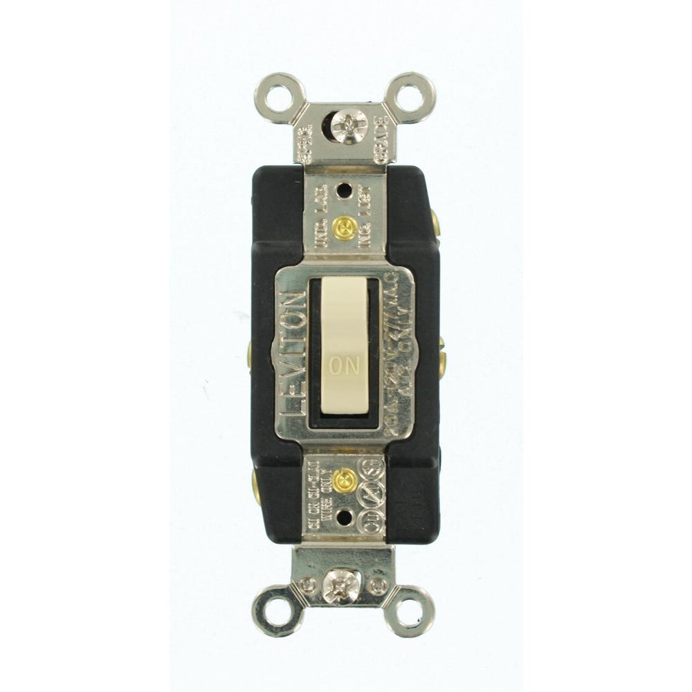 medium resolution of leviton 20 amp industrial grade heavy duty double pole double throw light switch double pole wiring diagram leviton single pole double throw switch wiring