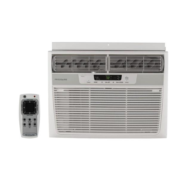 Frigidaire 12 000 Btu 115-volt Window-mounted Compact Air Conditioner With Remote Control