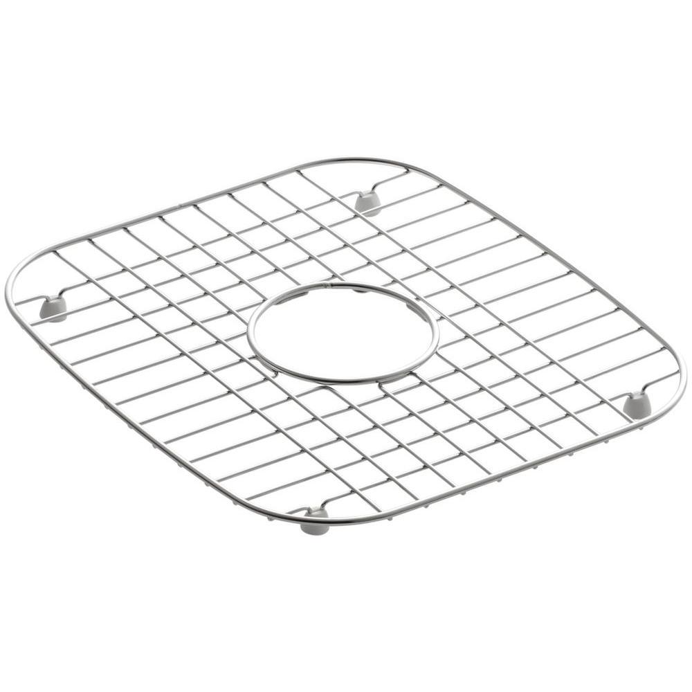 KOHLER Undertone Wire Sink Basin Rack in Stainless Steel-K