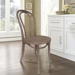 French Cafe Chairs Chair Bed Weathered Dining Set Of 2 Dwc 421agy The Home Internet 302551111