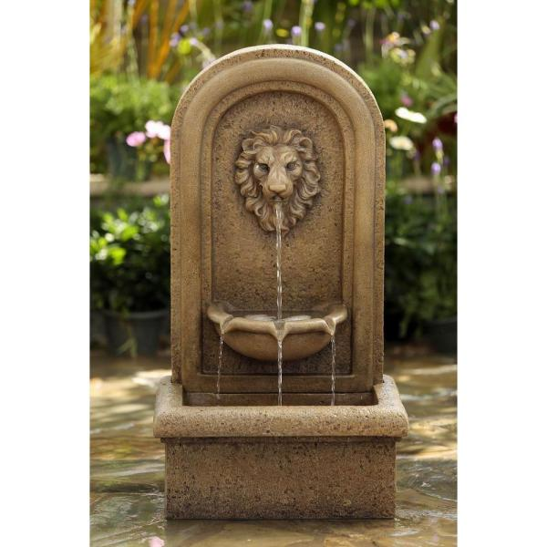 Jeco Classic Lion Head Wall Water Fountain-fcl123