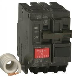 q line 20 amp 2 1 4 in double pole gfci circuit breaker [ 1000 x 1000 Pixel ]