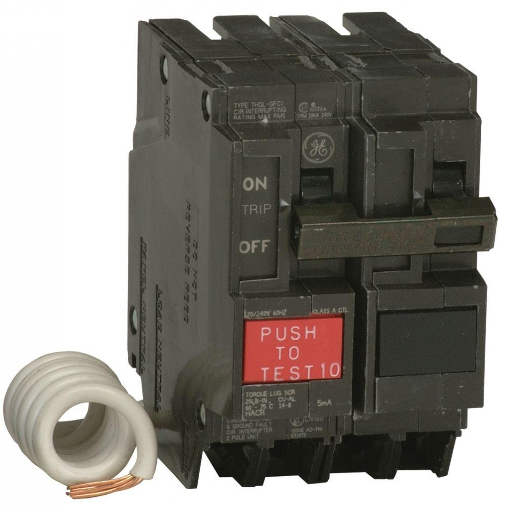 medium resolution of q line 20 amp 2 1 4 in double pole gfci circuit breaker